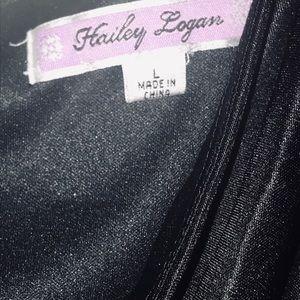 Hailey Logan one shoulder dress